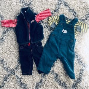 Carter's 3 and 6 Month Bundle